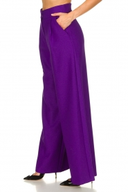 Silvian Heach | Trousers Ablik | purple  | Picture 4