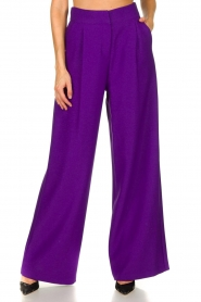 Silvian Heach | Trousers Ablik | purple  | Picture 2