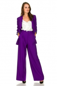Silvian Heach | Trousers Ablik | purple  | Picture 3