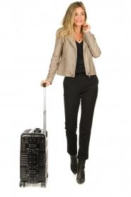 Silvian Heach | Hardcase suitcase Misha | black  | Picture 2