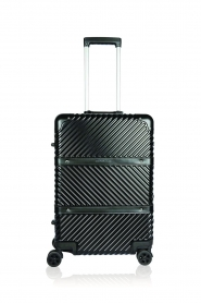 Silvian Heach |  Hardcase suitcase Theamy | black  | Picture 1