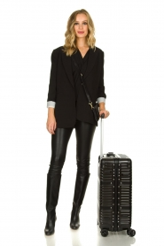 Silvian Heach |  Hardcase suitcase Theamy | black  | Picture 2