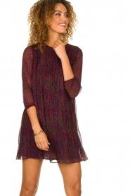 ba&sh |  Printed dress Grace | purple  | Picture 2