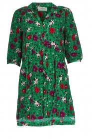 ba&sh |  Floral dress Pascou | green  | Picture 1