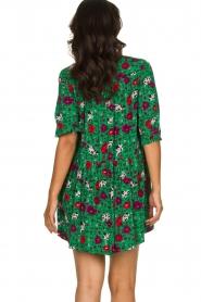 ba&sh |  Floral dress Pascou | green  | Picture 5