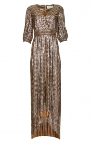 ba&sh |  Metallic maxi dress Pacey | metallic  | Picture 1