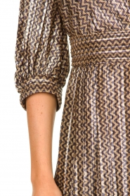 ba&sh |  Metallic maxi dress Pacey | metallic  | Picture 6