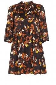 ba&sh |  Floral dress Anita | black  | Picture 1