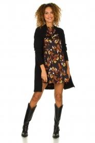 ba&sh |  Floral dress Anita | black  | Picture 3
