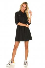ba&sh |  Shirt dress Victoire | black  | Picture 3