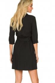 ba&sh |  Shirt dress Victoire | black  | Picture 5