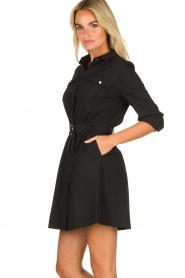 ba&sh |  Shirt dress Victoire | black  | Picture 4