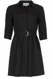 ba&sh |  Shirt dress Victoire | black  | Picture 1