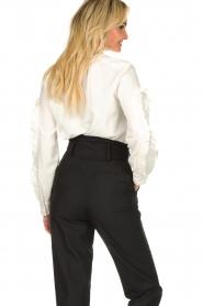 ba&sh |  Ruffle blouse Ceana | off-white  | Picture 5