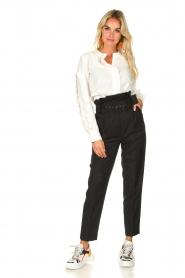 ba&sh |  Ruffle blouse Ceana | off-white  | Picture 3