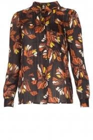 ba&sh |  Floral blouse Ava | black  | Picture 1
