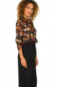 ba&sh |  Floral blouse Ava | black  | Picture 4