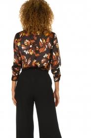 ba&sh |  Floral blouse Ava | black  | Picture 5