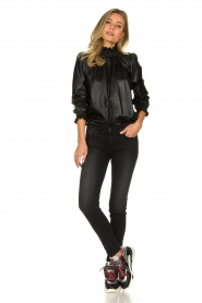 ba&sh | Leather top Mylo | black  | Picture 3