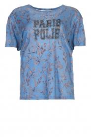 ba&sh | T-shirt met print Yawl  | blauw  | Afbeelding 1