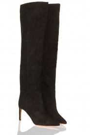 ba&sh | Suede boots Cilipa | black  | Picture 3