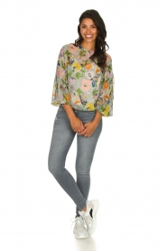 Essentiel Antwerp |  Floral top Tristory | multi  | Picture 3