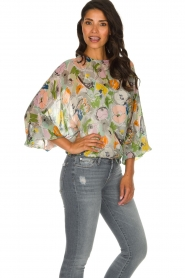 Essentiel Antwerp |  Floral top Tristory | multi  | Picture 5