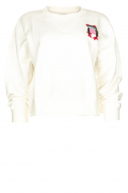 Essentiel Antwerp |  Sweater with sequins application Test | white  | Picture 1
