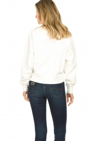 Essentiel Antwerp |  Sweater with sequins application Test | white  | Picture 5