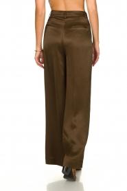 Essentiel Antwerp |  Wide leg trousers Taboe | brown  | Picture 5