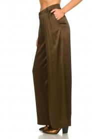 Essentiel Antwerp |  Wide leg trousers Taboe | brown  | Picture 4