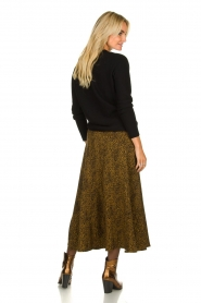 Essentiel Antwerp |  Leopard print maxi skirt  Tilde | Animal  | Picture 4