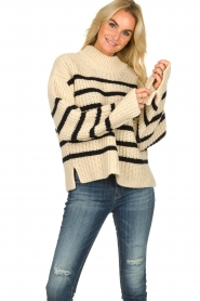 Essentiel Antwerp | Woolen sweater Todern | natural  | Picture 2