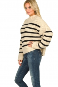 Essentiel Antwerp | Woolen sweater Todern | natural  | Picture 5