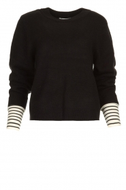 Essentiel Antwerp |  Knitted sweater Tanger | black  | Picture 1