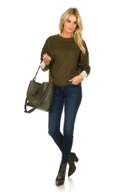 Essentiel Antwerp |  Knitted sweater Toutou | green  | Picture 3