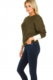 Essentiel Antwerp |  Knitted sweater Toutou | green  | Picture 5