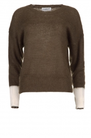 Essentiel Antwerp |  Knitted sweater Toutou | green  | Picture 1