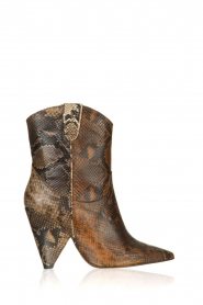 Essentiel Antwerp | Leather boots Tremors | brown  | Picture 1