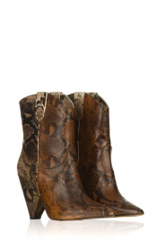 Essentiel Antwerp | Leather boots Tremors | brown  | Picture 6