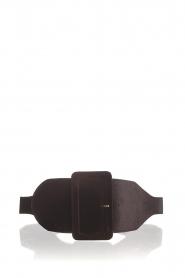 Kocca | Velvet belt Anelia | black  | Picture 1