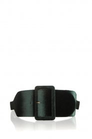 Kocca | Velvet belt Anelia | green  | Picture 1