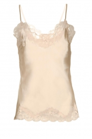 Gold hawk | Silk top Elin | natural