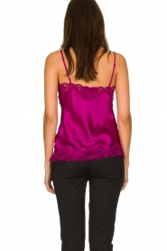 Gold Hawk |  Silk top Elin | pink  | Picture 5