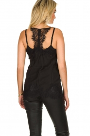 Gold Hawk | Silk top Elin Racerback | black  | Picture 4