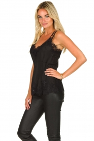 Gold Hawk | Silk top Elin Racerback | black  | Picture 3