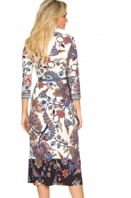 Hale Bob |  Floral wrap dress Zetta | white  | Picture 6