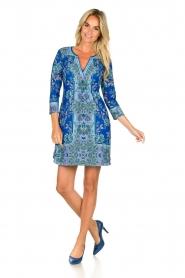 Hale Bob |  Floral dress Galiena | blue  | Picture 3