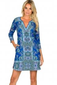 Hale Bob |  Floral dress Galiena | blue  | Picture 2