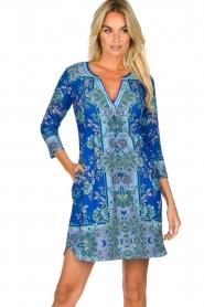 Hale Bob |  Floral dress Galiena | blue  | Picture 4